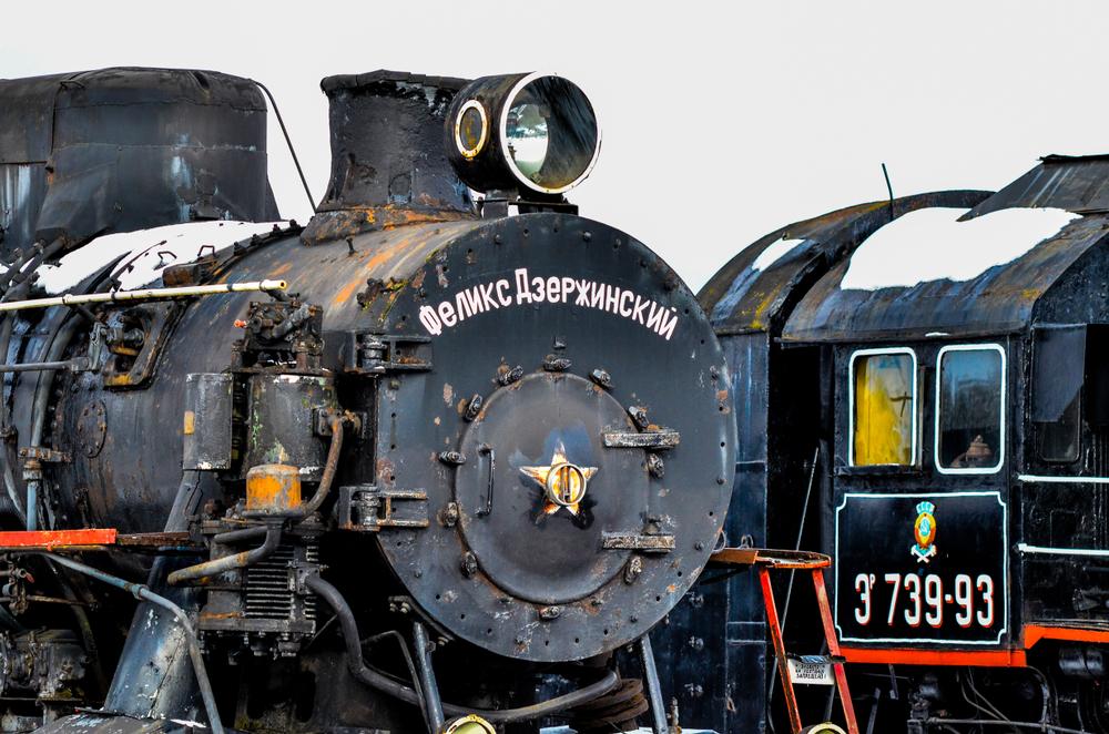 Старый локомотив «Феликс Дзержинский»