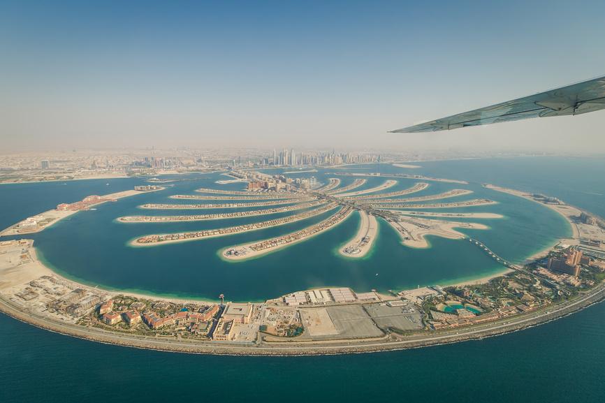 Пальма Джумейра, Дубай, ОАЭ.