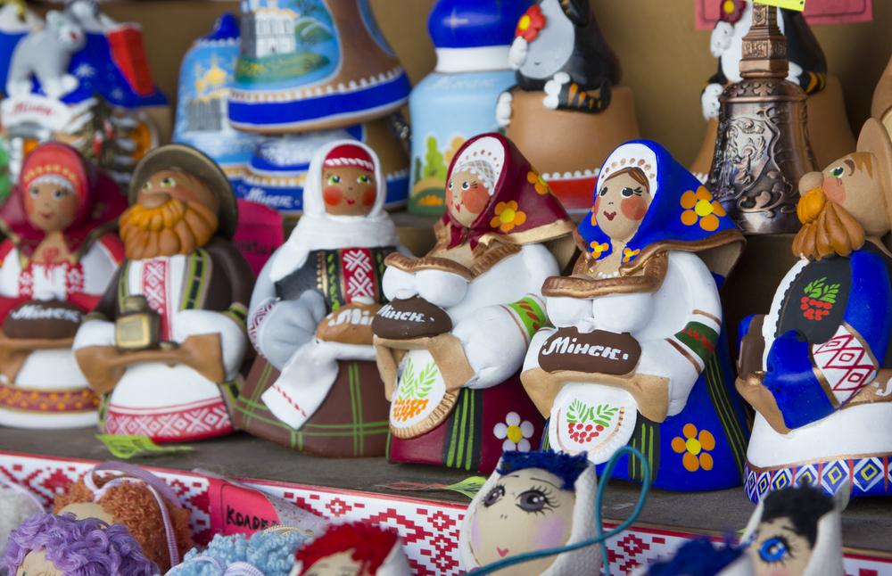 Красочные куклы — популярные сувениры из Минска