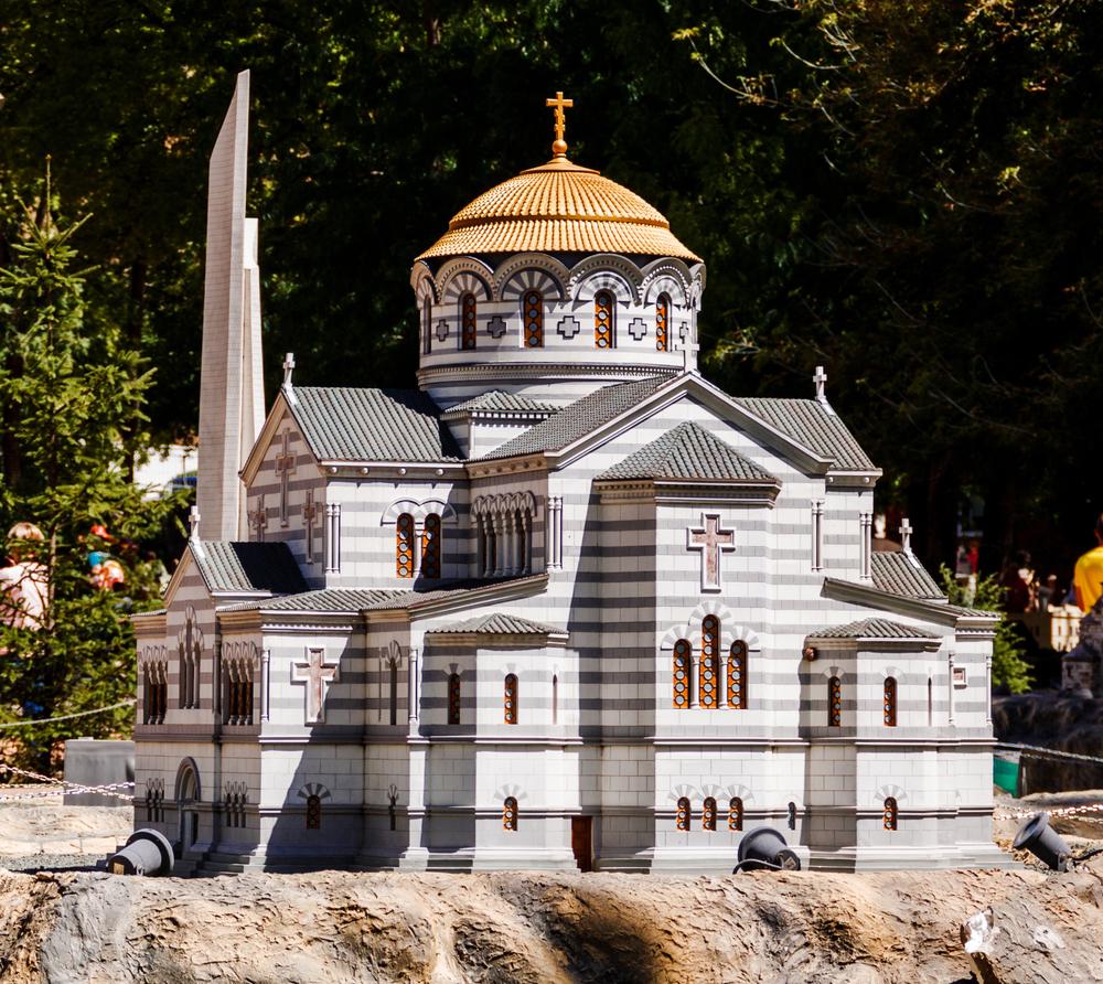 Владимирский собор в парке «Крым в миниатюре»