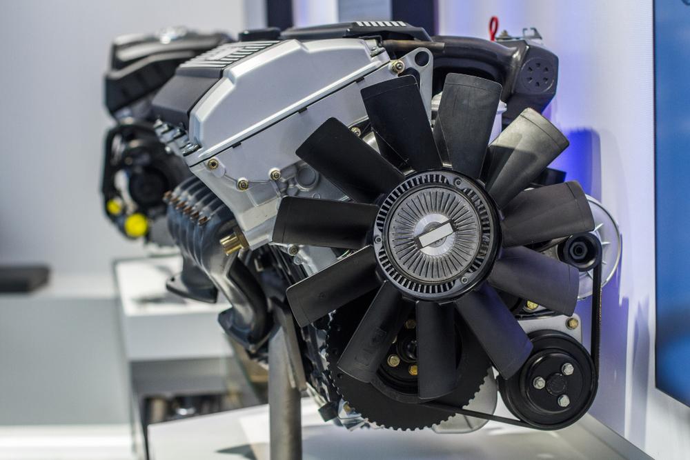 Мотор вмузее BMW, Мюнхен