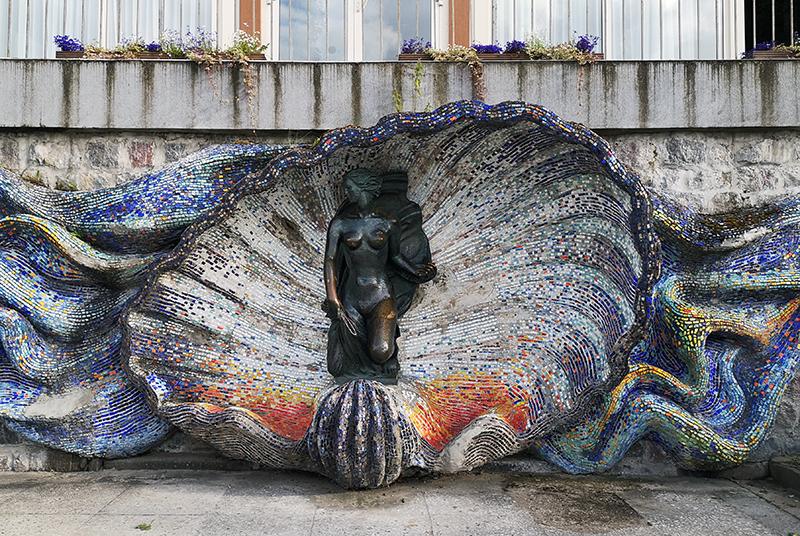 Скульптура «Нимфа», Светлогорск
