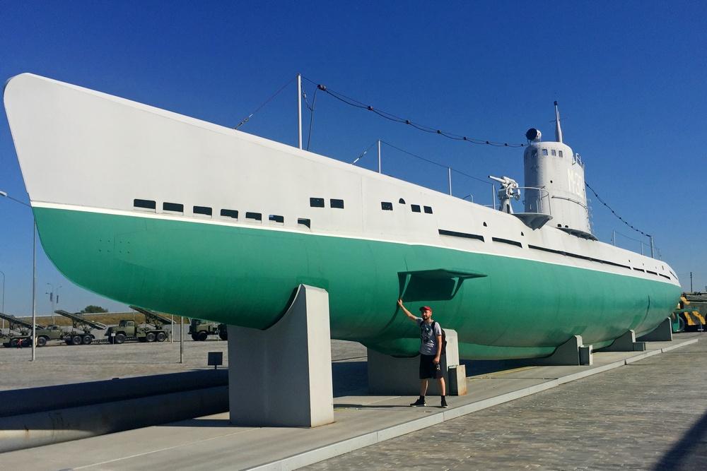 Подводная лодка «Малютка» в музее