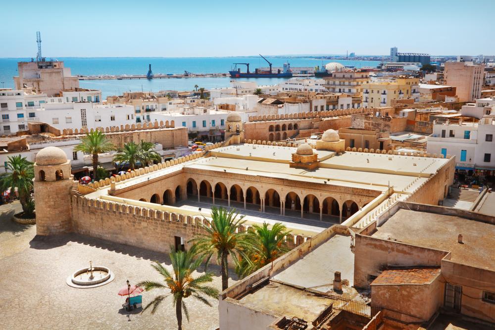 Панорама Сусса, Тунис.