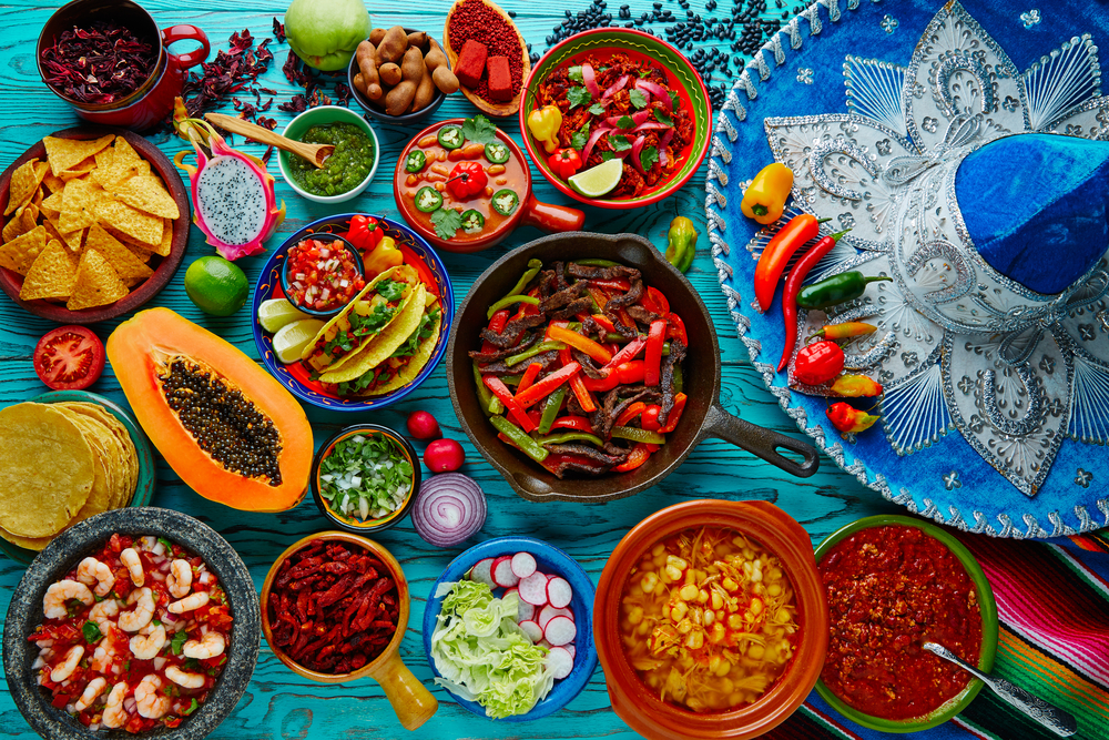 four foods common throughout mexico essay Fast food nowadays there are a lot of different cousins, and it is also not a secret that everyone can order it sitting at home remember: try to balance fast food with other nutritious foods throughout the day and make healthier choices whenever possible.