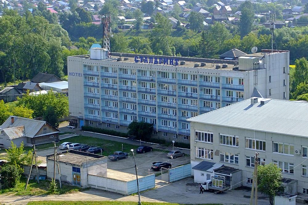 Гостиница «Сталагмит» в Кунгуре