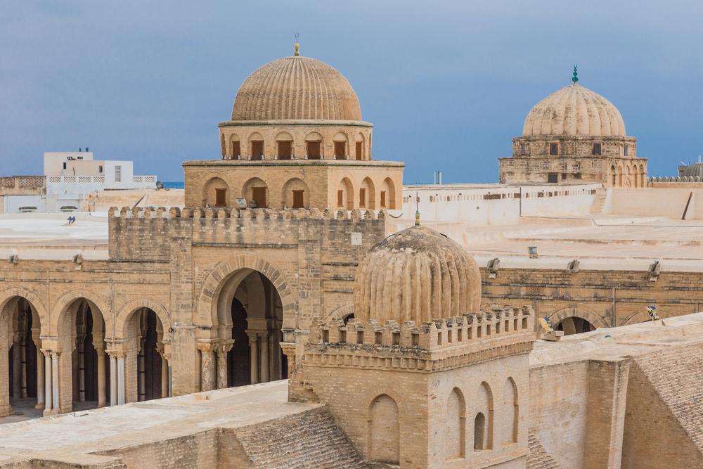 Мечеть Укба, Кейруан, Тунис.
