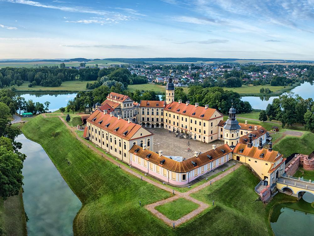 Несвижский замок, Минская область, Белоруссия