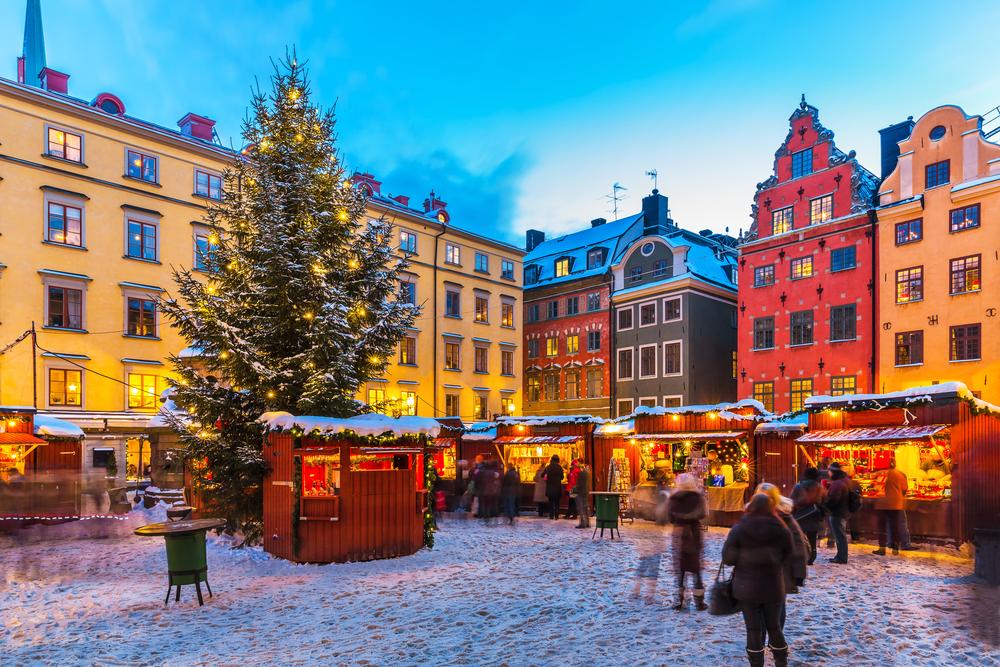 Рождественская ярмарка вСтокгольме