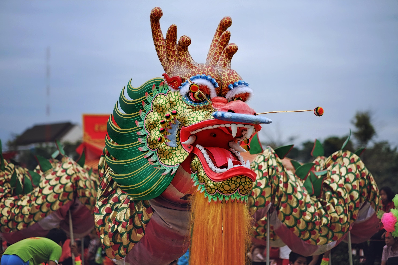 Китайский дракон в Таиланде
