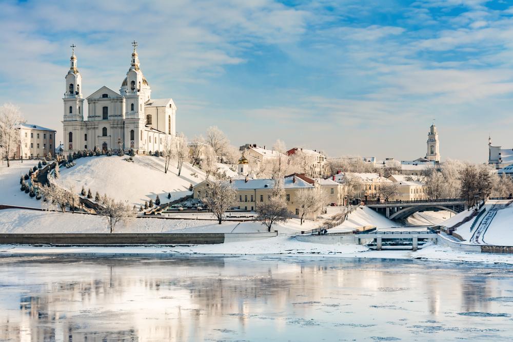 Успенский собор зимой