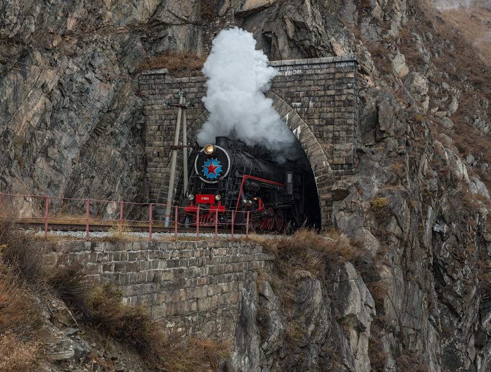 Экскурсионный поезд на КБЖД