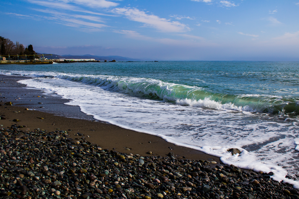 Пляж, Алушта