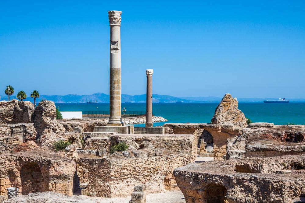 Термы Антонина рядоми с Карфагеном, Тунис.