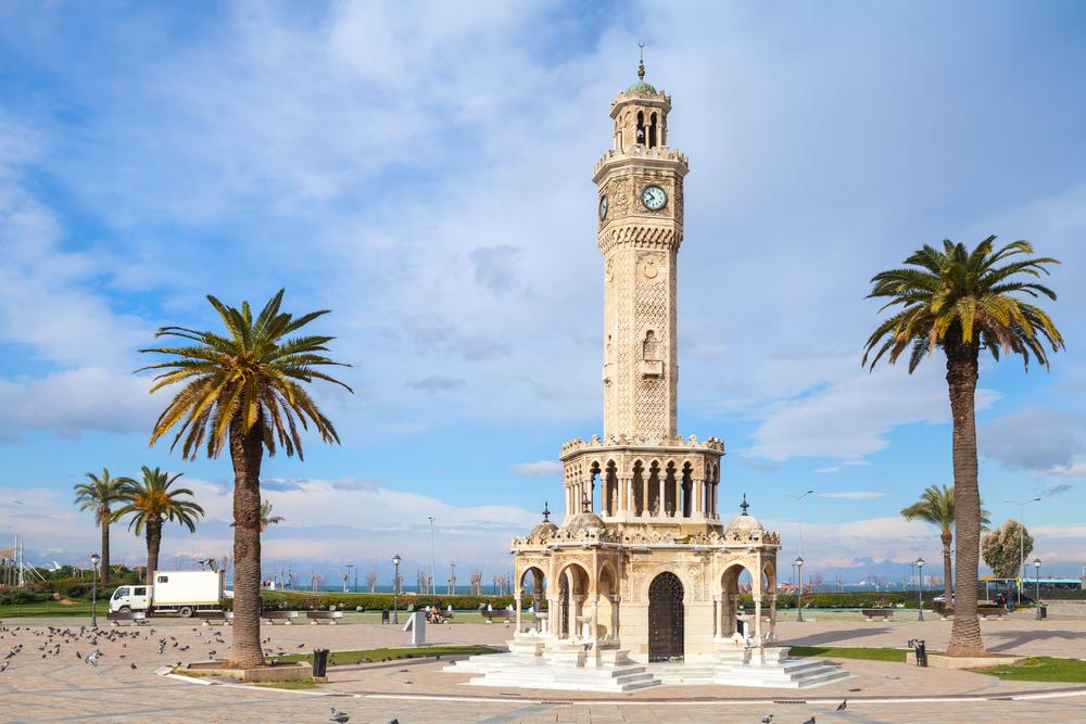 Часовая башня, Измир, Турция.