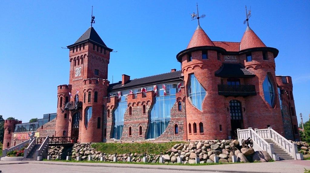 Трёхзвёздочный замок-отель Nesselbeck