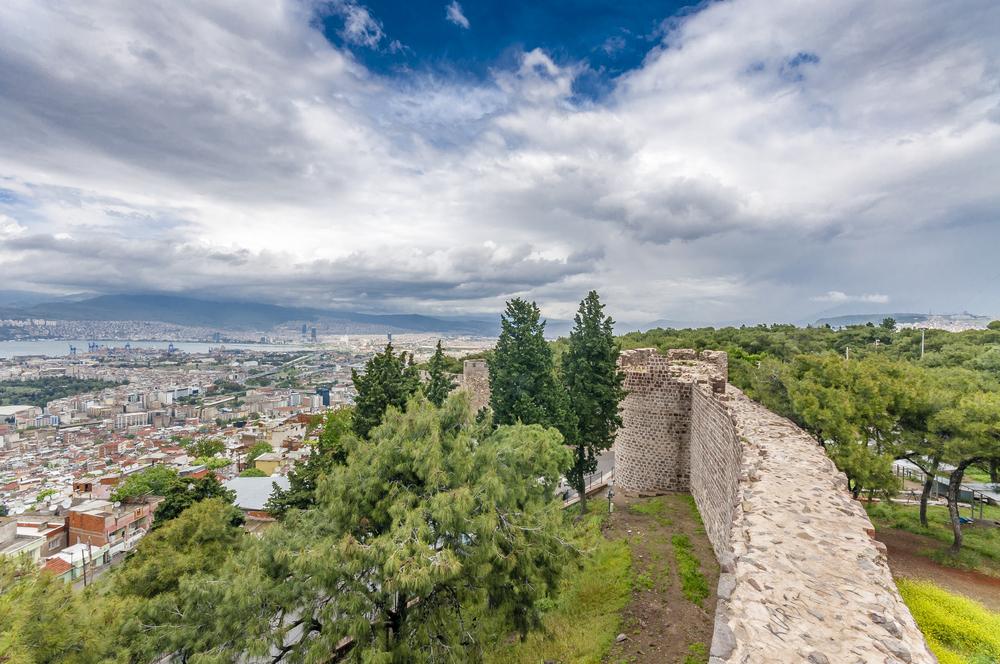 Крепость Кадифекале, Измир, Турция.