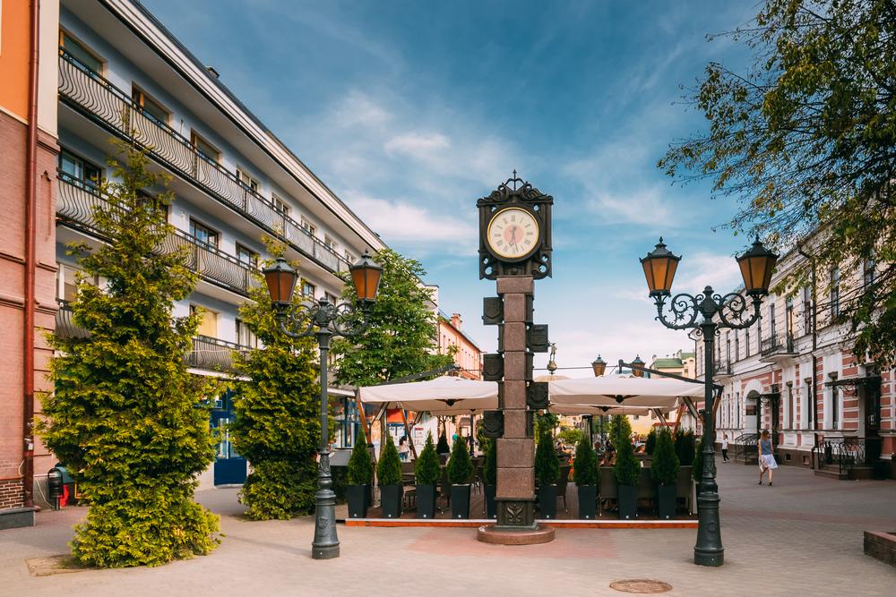 Часы на Советской улице