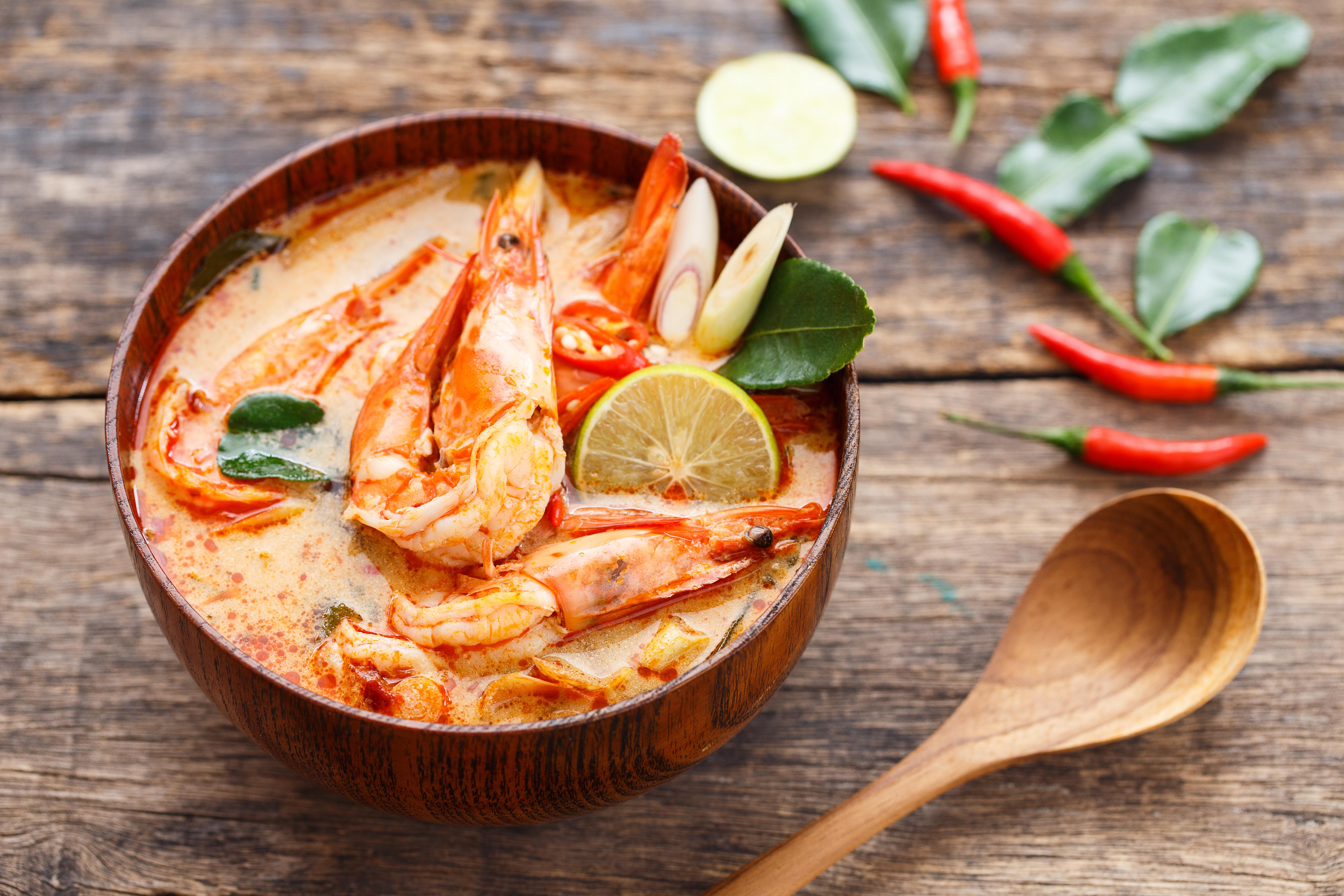 Том ям - знаменитый тайский суп