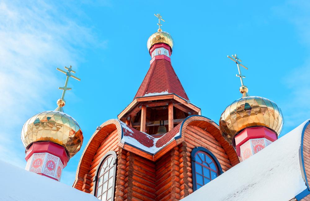 Деревянная церковь в Самаре