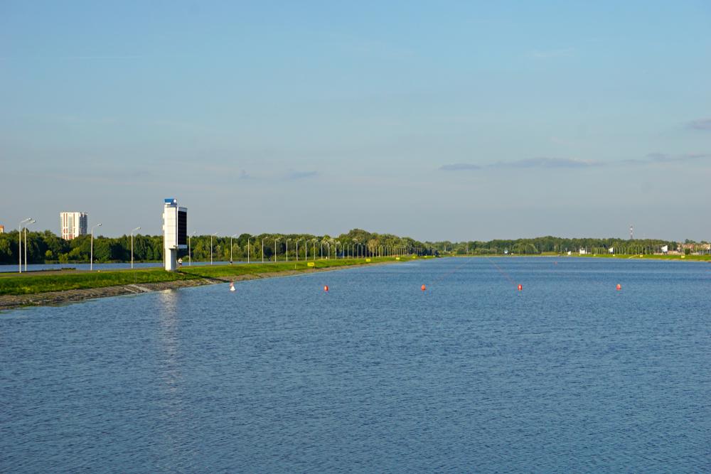 Гребной канал на реке Мухавец
