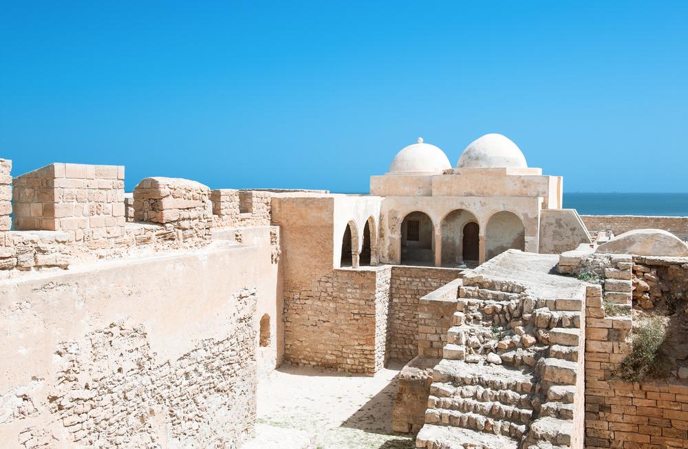 Форт Гази Мустафа, Джерба, Тунис.