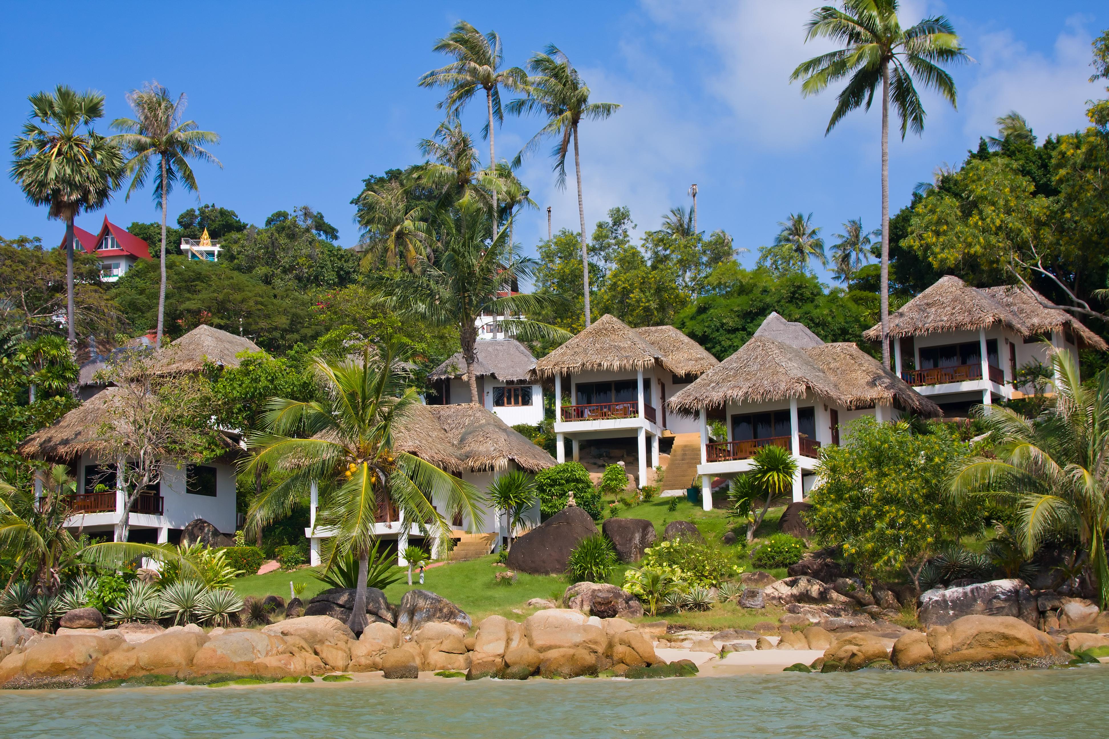 Бунгало на острове Самуи