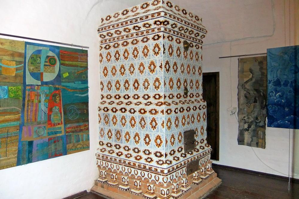 Изразцовая печь в Строгановских палатах