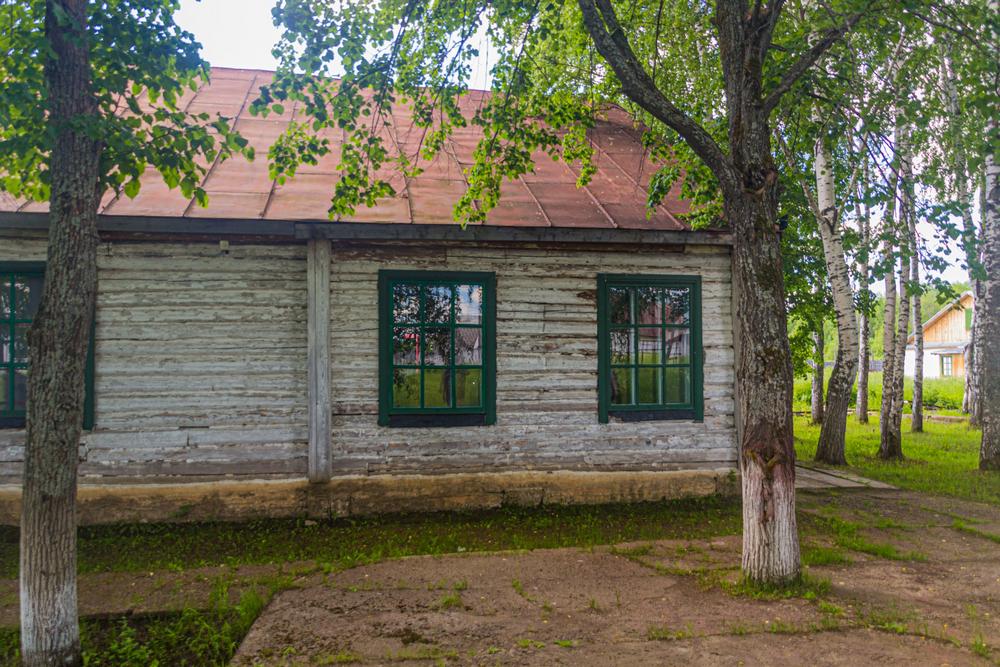 Жилой барак вмузее «Пермь-36»
