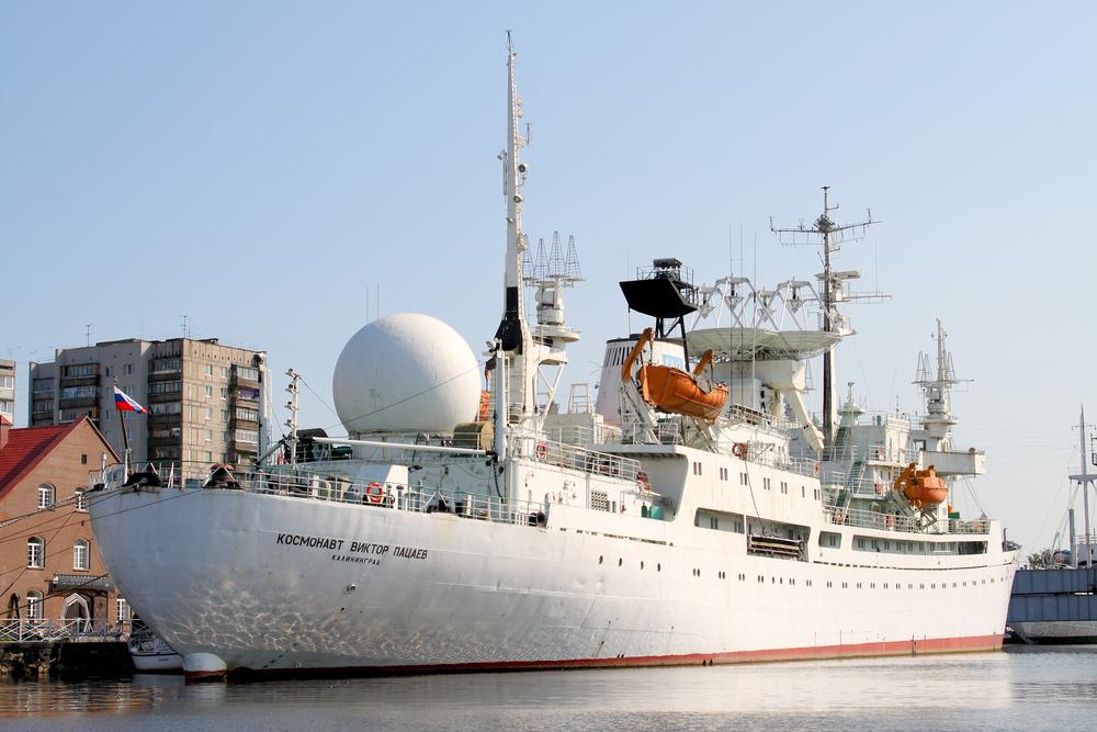 Корабль Музея мирового океана