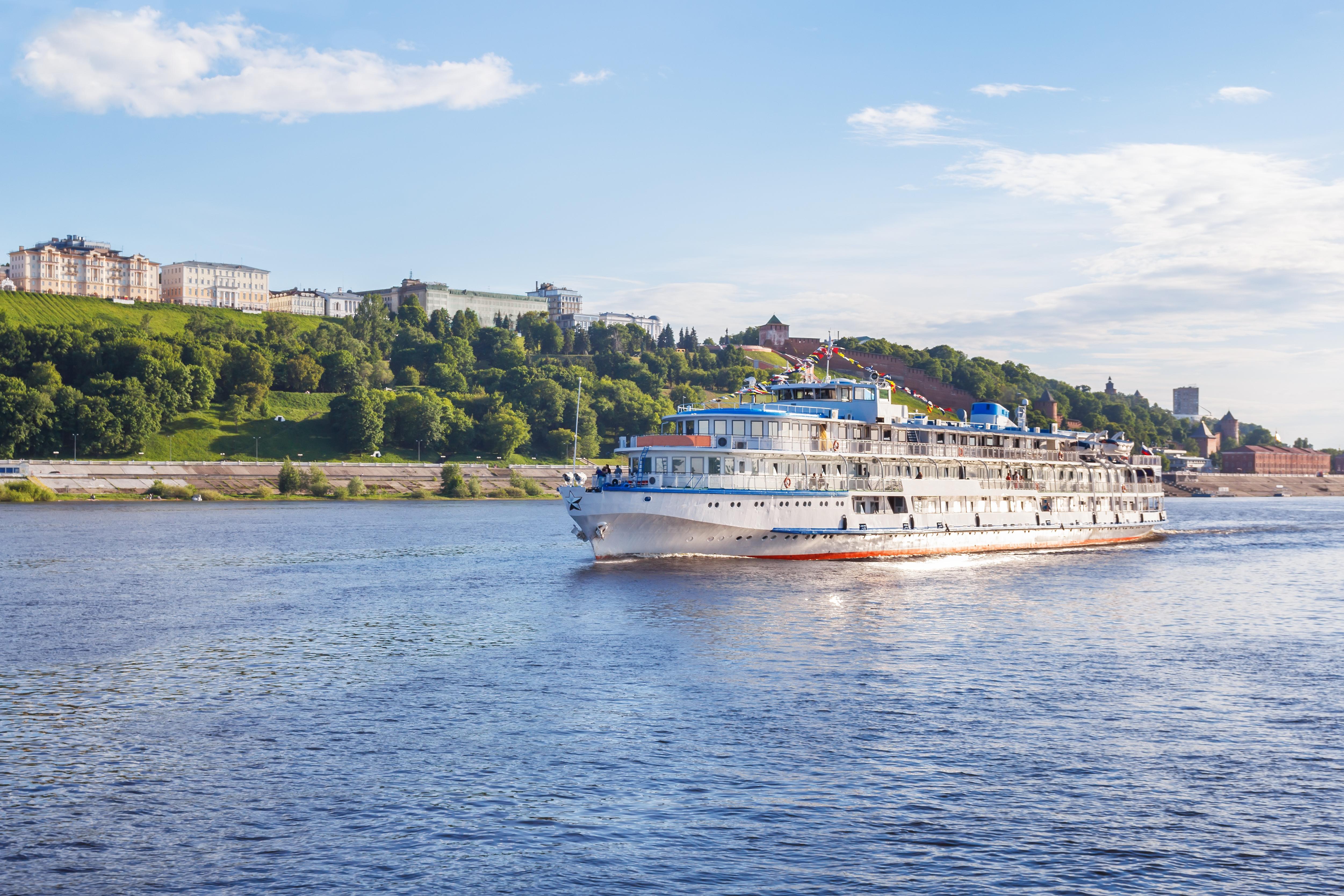 Речной транспорт в Нижнем Новгороде