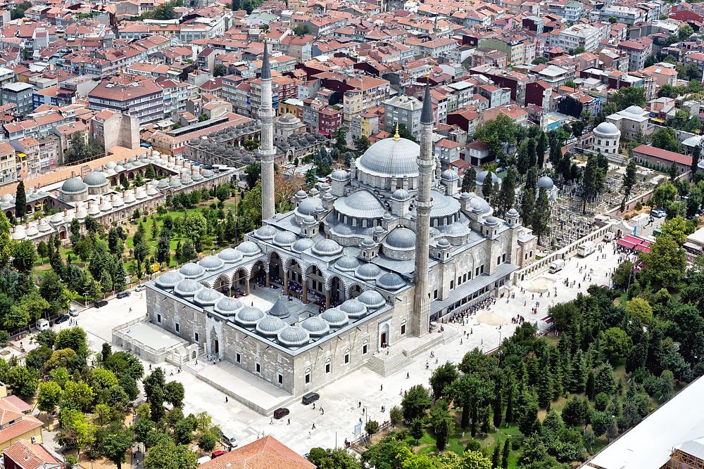 Мечеть Сулеймание. Стамбул, Турция.