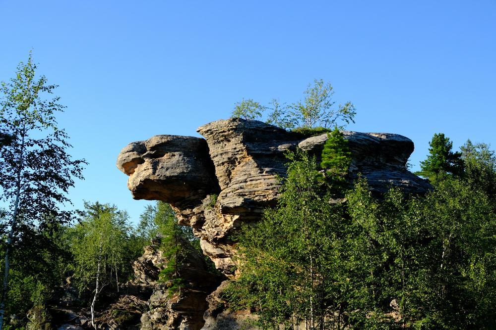 Каменный город— скала Черепаха