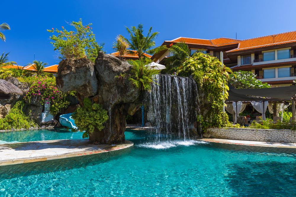 Территория отеля в Нуса-Дуа, Бали