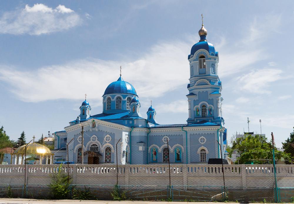 Свято-Ильинский храм, Саки
