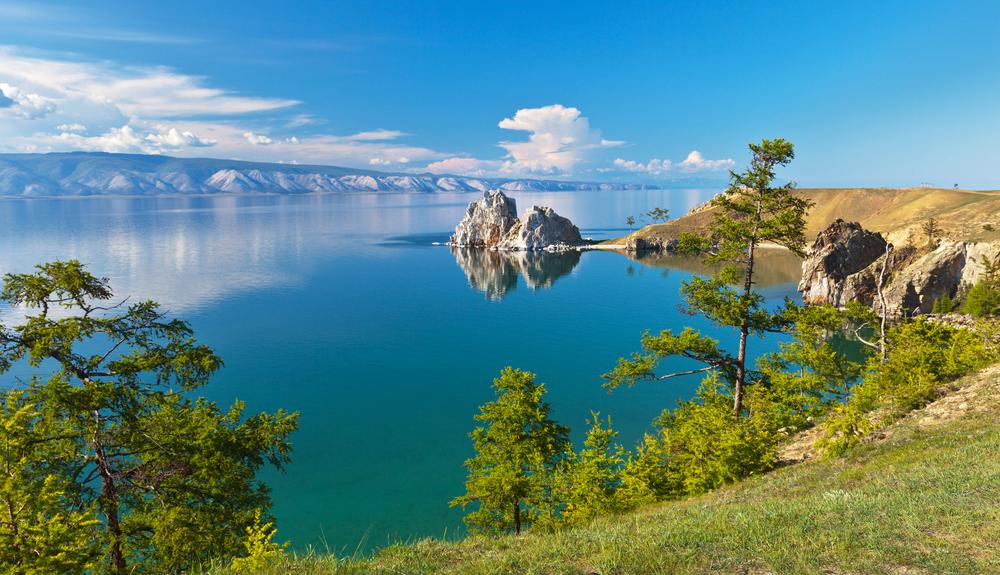 Байкал, остров Ольхон, мыс Бурхан