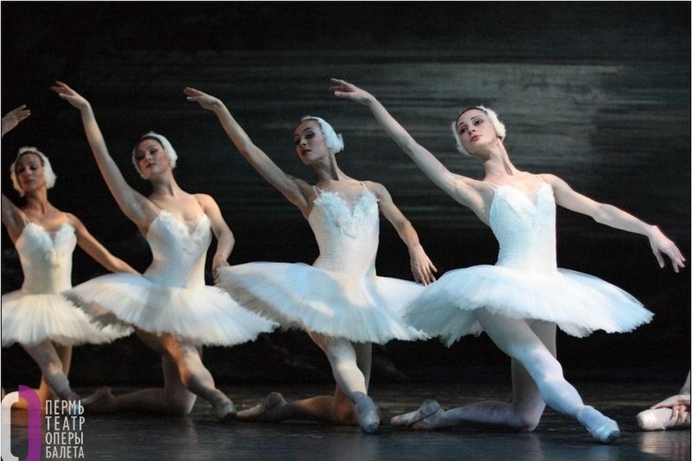 Балет «Лебединое озеро». Фото с официального сайта театра