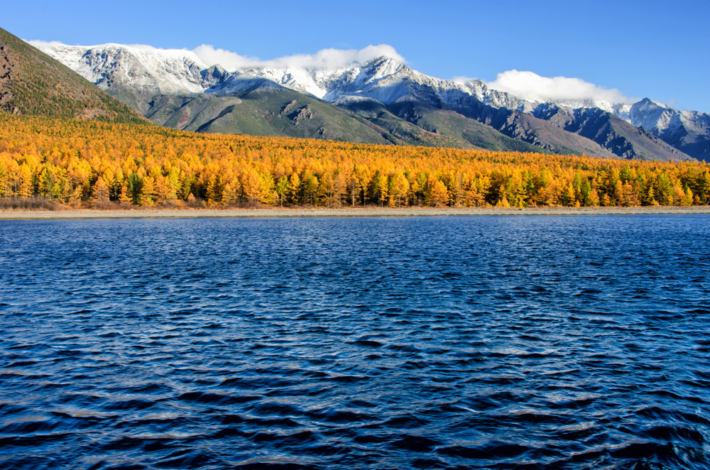 Байкал осенью