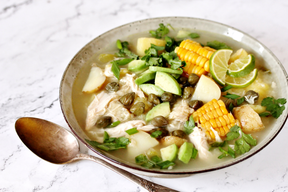 Ахиако криольо — густой суп-рагу