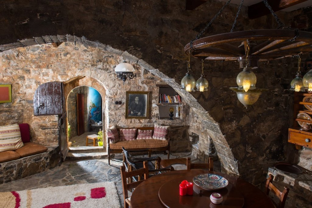 Часть апартаментов в отеле The traditional homes of Crete