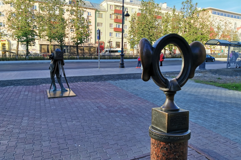 Скульптура «Пермяк – солёные уши»