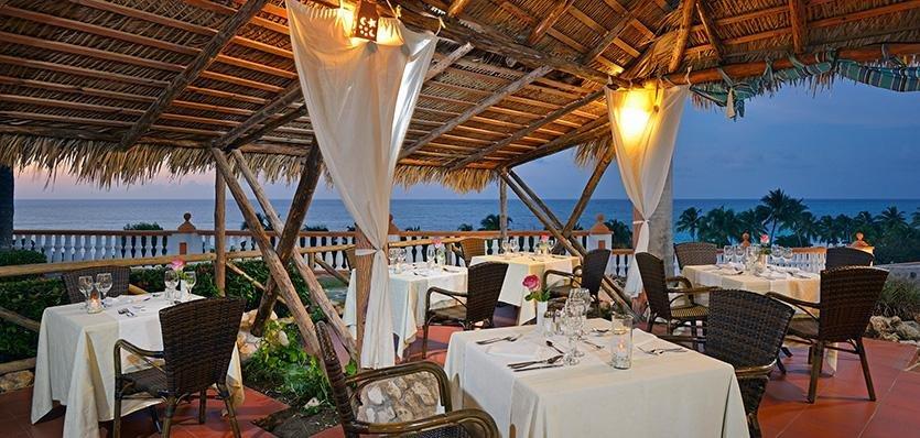 Ресторан в отеле Sol Rio de Luna y Mares