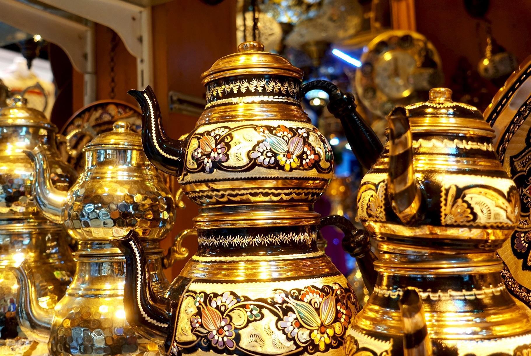 Подарочный набор турецких чайников