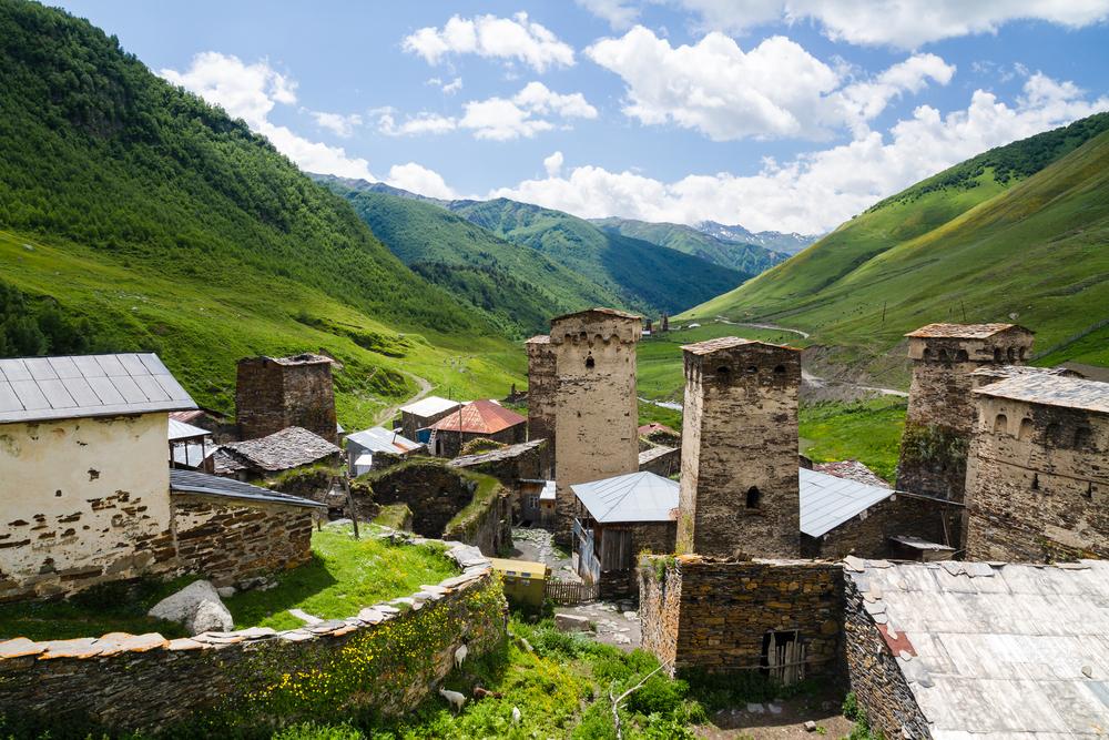 Сванетия, Грузия
