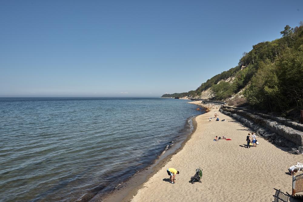 Пляж вСветлогорске