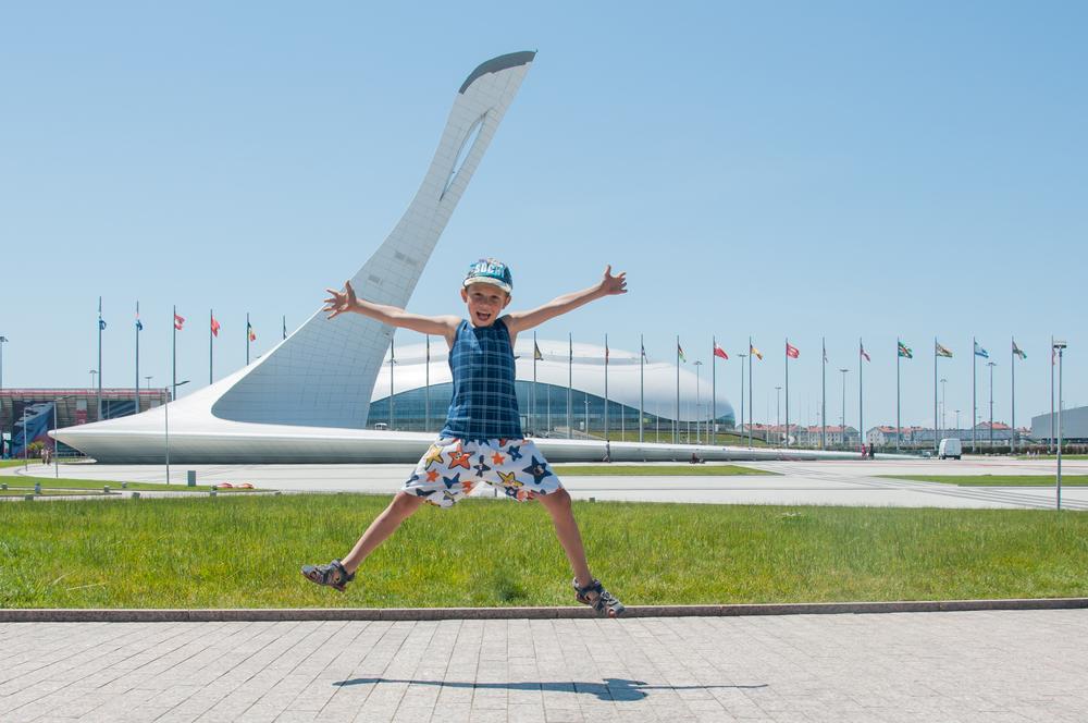 Олимпийский парк, Адлер