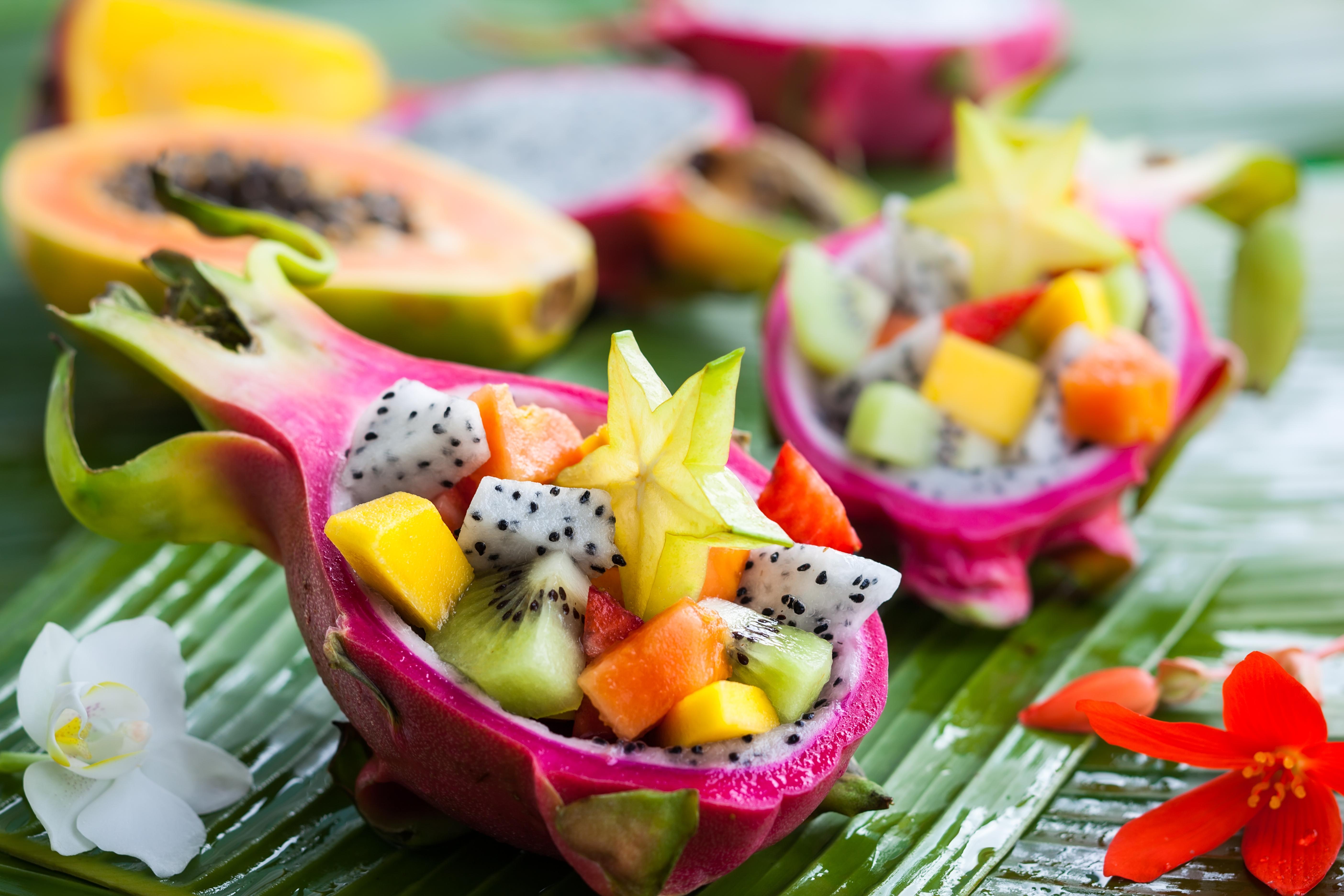 В Таиланде изобилие сочных фруктов