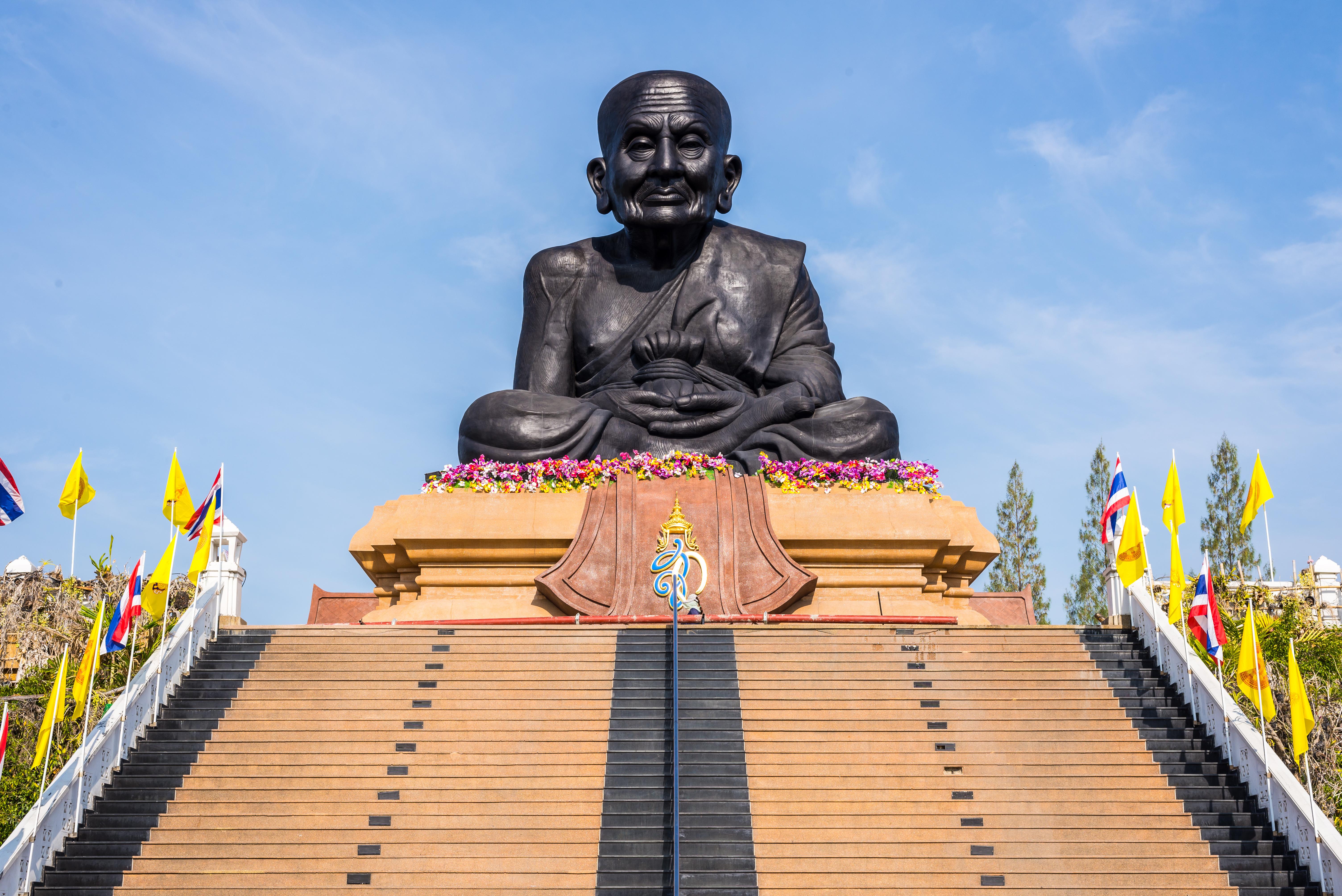 Черный монах в Хуа Хине