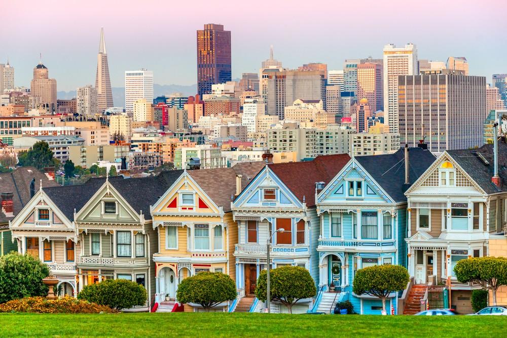 «Разукрашенные леди», Сан-Франциско