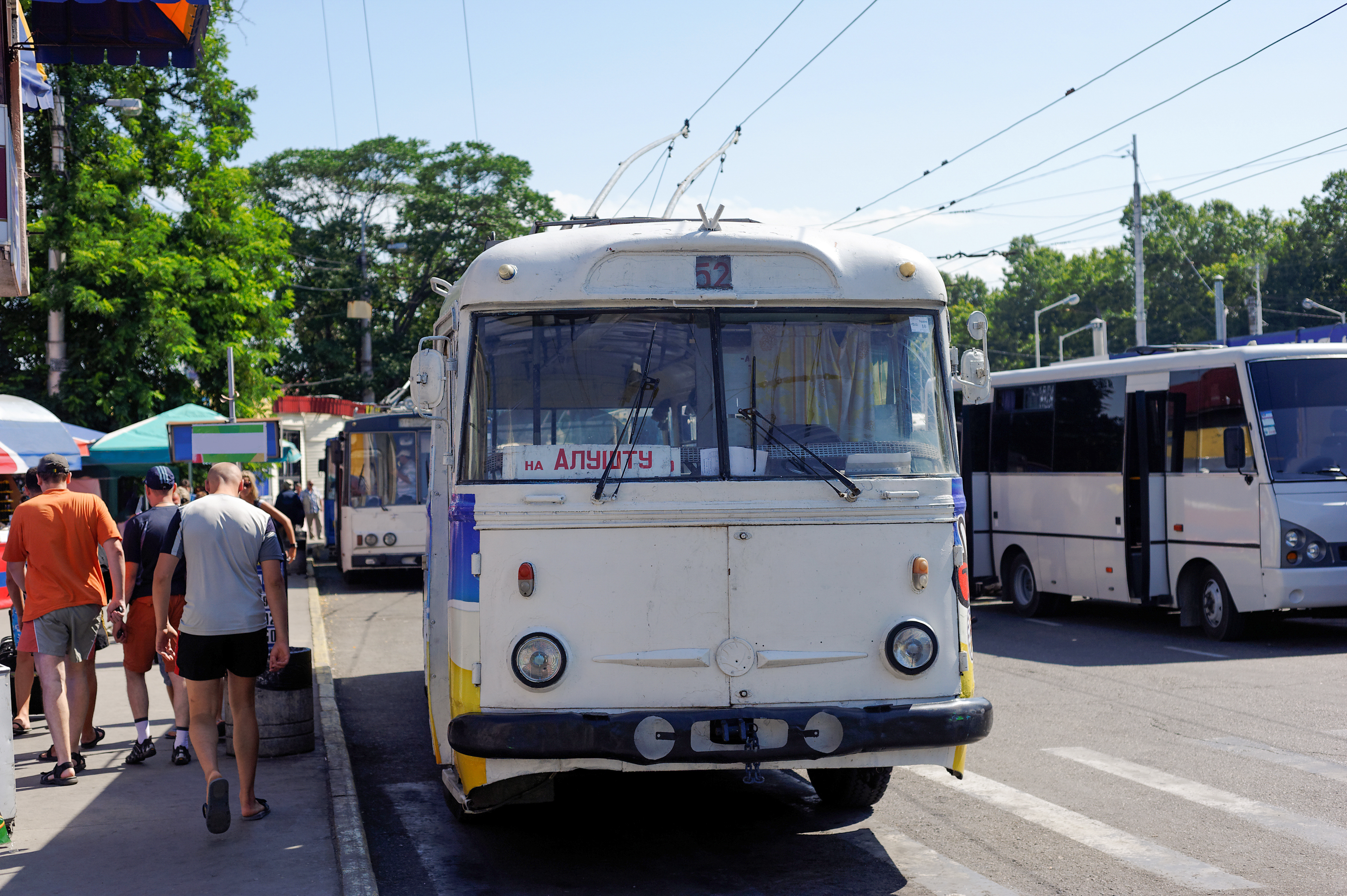 Автобус на Алушту